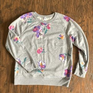 Old Navy floral print pullover